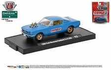 1:64 M2 MACHINES AUTO-DRIVERS R43 * 1966 FORD MUSTANG FASTBACK 2+2 289 BLUE