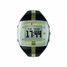 Polar FT7 Fitness Heart Rate Monitor ~Watch ONLY~ Black/Gold ~ New Battery(A5)