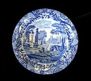 Beautiful Copeland Spode Italian Blue Large Serving Bowl