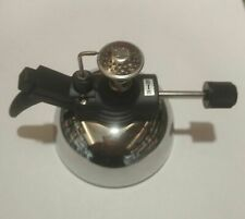 Dental lab steel portable mirco gass Burner Lamp auto Ignition for waxup.