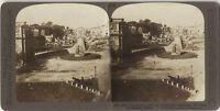 Roma Via Saora Colosseo Italia Foto Stereo Stereoview Vintage