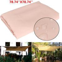 2MX2M Patio Sun Shade Sail Shelter Outdoor Garden Car Cover Awning Canopy Patio