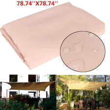 2MX2M Patio Sun Shade Sail Shelter Outdoor Garden Car Cover Awning Canopy Patio