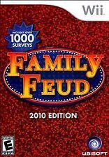 Family Feud -- 2010 Edition (Nintendo Wii, 2009) NEW