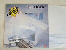 ROB HOEKE - Boogie Woogie Explosion LP Polydor France 1979