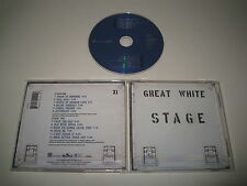 GREAT WHITE/STAGE(BMG/72445 11121 2)CD ALBUM