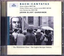 Gardiner Bach Cantata BWV 106 118 198 CD Nancy Argenta Michael Chance Kantaten