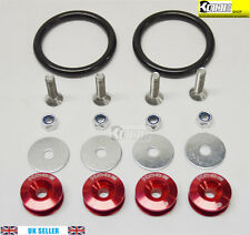 KODE Anodise RED JDM Bumper Quick Release Toyota Supra Celica AE86 GT86 JZX100