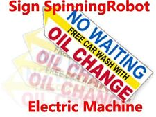 Sign Waving Robot