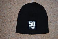 50 Cent con el logotipo bordado Beanie Ski Gorra BNWT Rap enriquecerse Curtis Masacre