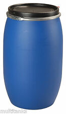 Bidon 150 litres 150L jerrycan fut baril plastique alimentaire ouverture totale