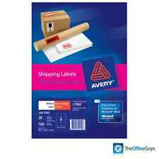 AVERY L7990 Printable Warning Labels 99.1 x 67.7mm 8/Sheet, Pack 20 (959140)