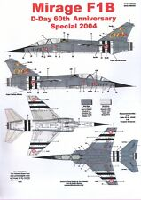 NEW 1:72 Model Alliance Decals 729009 1:72 Dassault Mirage F.1B D-Day 60th