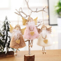 2X Angel Doll Toys Christmas Tree Hanging Ornament Pendant Wedding Party Decors