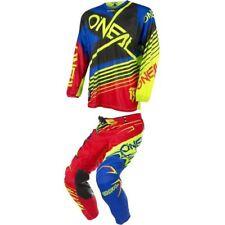 tuta oneal racerwear maglia e pantalone motocross quad enduro o'neal