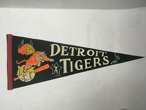 DETROIT TIGERS BASEBALL PENNANT 1960s