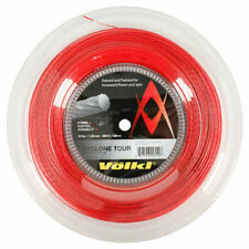 VOLKL CYCLONE TOUR TENNIS STRING - 1.20MM 18G - 200M REEL - RED - RRP £150