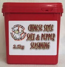 Mister Marinade 👨‍🍳 Chinese Salt & Pepper Seasoning Chips 2.5kg Red Tub
