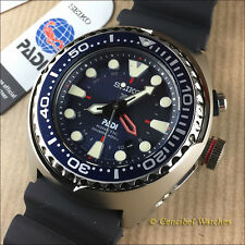 Fantastico Seiko Prospex PADI SUN065P1 SUN065 GMT LIMITED EDITION DIVING 200M