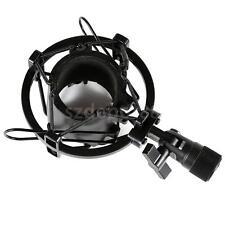Black Anti Vibration Microphone Mic Sound Studio Recording Shock Mount Stand