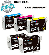 Epson 252XL Color Ink Printer WorkForce WF-3620 WF-3640 WF-7110 WF-7610 WF-7620