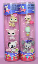 Rare Set 292 293 294 295 296 297 - Littlest Pet Shop Valentine NEW in Box Tube