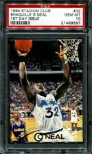Shaquille Oneal 1994 Stadium Club PSA 10 #32 1ST Day