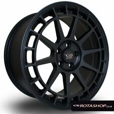 17X8 +40 ROTA RECCE 4X108 BLACK WHEELS RIMS FORD ( SET OF 4 )