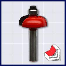 Holzfräser Fräser Halbhohlkehlfräser D 25,4 mm, R=5,35 mm