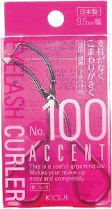 New KOJI Mini Accent Eyelash Curler No.100 9.5mm Wide type Japan