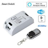 WiFi Smart Switch 433 Mhz Wireless RF Receiver Remote Control Smart Home Module