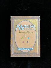 1994 Magic The Gathering Revised Edition Empty Starter Deck Box