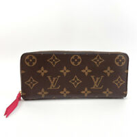 LOUIS VUITTON purse M42119 Portefeiulle Clement Monogram canvas Women