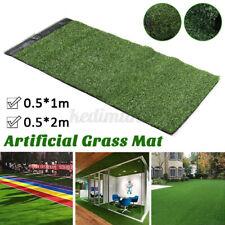 Garden Artificial Grass Turf Synthetic Mat Soft Pet Rug Floor Landscape Lawn US