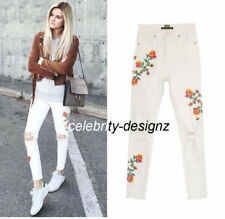 Solid Pattern Slim, Skinny Jeans for Women