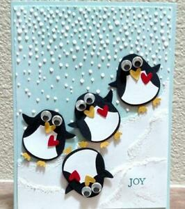 penguin Animal Cutting Dies Scrapbooking Metal Embossing die Cut Card Making DIY