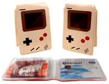 Exotic Rail Bus Travel Business Credit ID Slim Wallet Holder for Oyster Card Lot Gameboy
