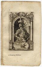 Theudebert, Herzog von Bayern, Kupferstich von 1680