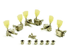 KLUSON 3x3 Nickel Single Line Tuners For Gibson Les Paul SD90SLN