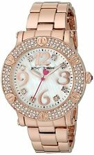 Betsey Johnson watch BJ00229-05 New in box rose gold tone