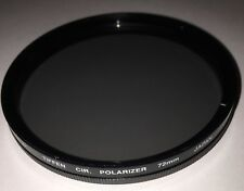 Tiffen 72mm Circular Polarizing Filter 72CP