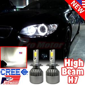 2PC H7 6000K 72W 7600LM LED High Beam CREE Error Free Headlight White LED Bulbs