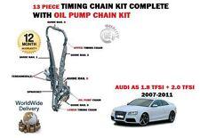 Pour Audi A5 1.8 TFSI 170bhp CABD 09/2007 -2011 Timing chaîne set + Pompe À Huile Kit