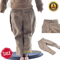 "1/6 WWII German Riding Breeches Pants Trousers Uniform Set F 12"" Soldier Figure"