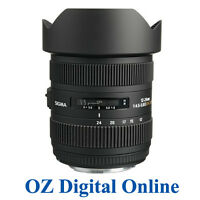 New Sigma 12-24mm F4.5-5.6 II DG HSM Lens for Canon 1 Yr Au Wty