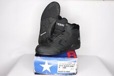 Vtg 90s New Converse Mens 9 Cons 500 Classic Hi Leather Basketball Shoes Black
