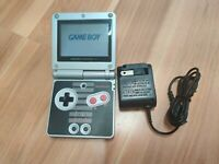 Nintendo GameBoy Advance SP AGS-001 NES Edition GBA Console Free Shipping
