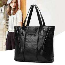 Sheepskin Retro Leather Large Capacity Handbags Shoulder Bags Womens Tote