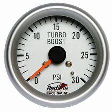 2 5/8 Boost Gauge 0-30PSI with Line Kit 258-29 Redline