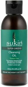 Sukin Super Greens Cleansing Oil Makeup Remover Facial Eye Refresh Clean 125ml